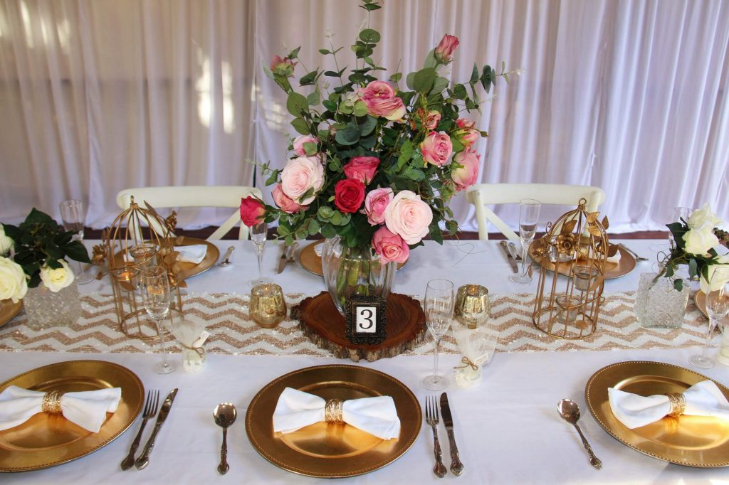 Sequin table runner I Do Weddings & Events Styling & Hire Gold Coast Wedding Decorations Prop Hire
