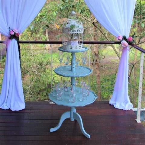 3 tier cupcake/drink stand (1 metre tall) | Food & Drink Serving