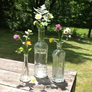 vintage bottles (assorted sizes) | Flower Vessels