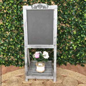 rustic A-frame chalkboard with under tray | Signage & Easels