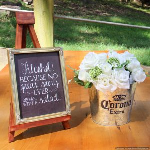 Alcohol novelty sign | Signage & Easels
