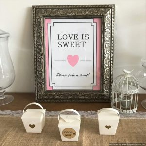 lolly buffet sign | Signage & Easels